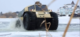 Powerful Russian Sherp ATV Knows No Bounds