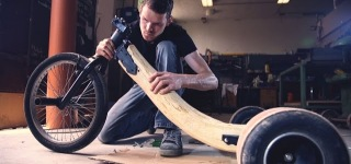 How To Build A Real Oaken Wood Drift Trike Must See!!!