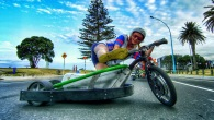 Crazy Drift Trike and Super Funny Blokart Riding