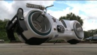Lithium-Powered Tron Lightcycle Street-Legal Bike by Parker Brothers