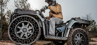Revolution In Tire Technology Polaris Terrain Armor