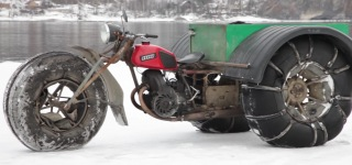 "Amazing Russian Homemade ATV ""Bolivar"""