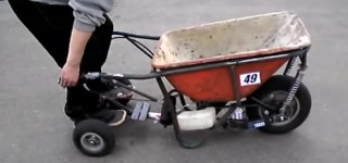 Genius Japanese Style Invention With Wheelbarrow
