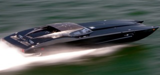 Super Cool Speedboat Corvette ZR1 Inspired ZR48