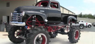 1950 Chevrolet Stepside 1300 Horsepower Huge Mud Truck