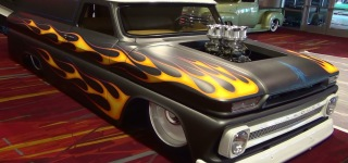 Super Classy 1963-1966 Chevrolet Panel Truck From 2014 SEMA Show
