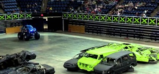 Incredible 9 Years Old Drives Super Cool Mini Monster Truck Like a Boss