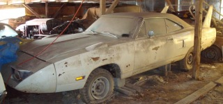 Hidden Treasure in a Barn-Torino Talladega, Dodge Charger, Mercury Cyclone Must See!!!