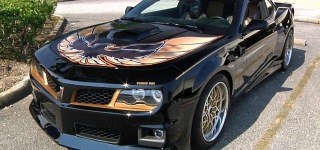Amazing Transformation into 2013 Pontiac Firebird Hurst Trans Am