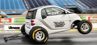 """NU BIG THING"" The Fastest Smart Car on the Planet 10.26 at 130.83 MPH"