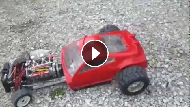 V8 Engine Rc Hot Rod