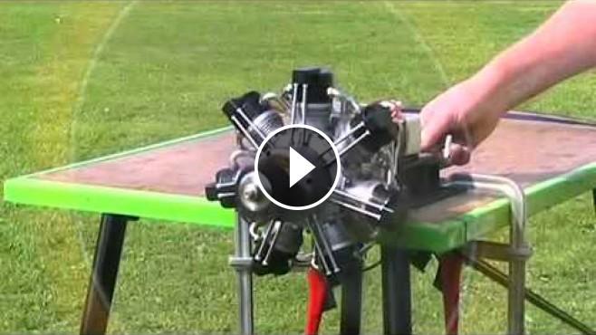 brown bear motors septa 120 radial engine