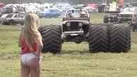 Awesome Mud Part with Hot Girls and Badass Trucks