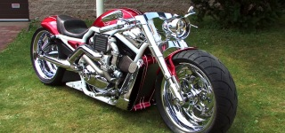 Check Out This Fantastic Custom Made Supercharged V-Rod Harley Davidson!