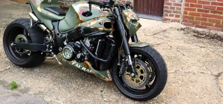 The Beast Suzuki Hayabusa Streetfighter Cool as Hell!!!