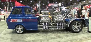 Fully Restored 1962 Ford Econoline Pickup Truck with 4,000HP-SEMA 2015
