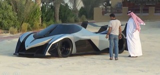5000HP Hypercar Devel Sixteen SPOTTED In Dubai Beach!