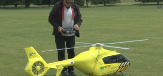 Get A Load Of This Amazing Jet Engine Powered Big Scale RC Helicopter