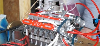 Exclusive V12 Model Engine 163cc