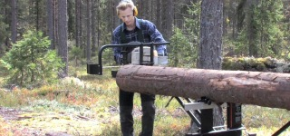 The Ultimate Portable Sawmill Swedish Logosol M8