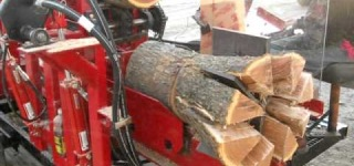 Homemade Wood Processor True Master in Wood Splitting