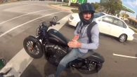 Two Guys Stopped by Police While on Harley Davidson Sportster Iron 883