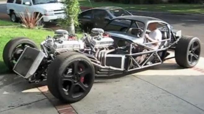 Fast Awd Cars >> INSANE V16 Engine Hot Rod