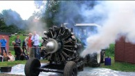 Russian Radial Engine Start and Run