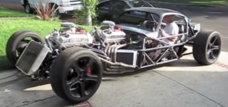 INSANE V16 Engine Hot Rod