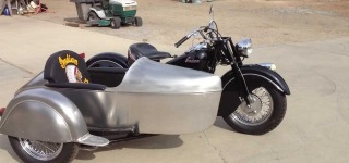 1948 Indian Chief with Aluminum Sidecar