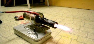 Homemade Electric Motor Jet Engine-Demo Version