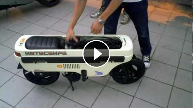 Honda Motocompo Vintage Folding Motorcycle