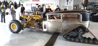 Caterpillar Diesel Power Madness by Rat Rod Diesel World Las Vegas