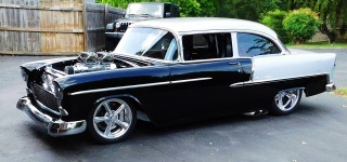 Impressive Machine ! 1955 Chevrolet Bel Air Pro Street