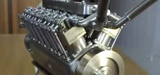 Building the World's Smallest V12 Engine