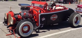 Super Cool Harley Hot Rod!