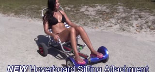 HoverSeat: Ultimate Invention That Transforms Hoverboard into Hover Kart