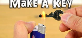 Making Emergency Spare Key Using Just Simple Tools