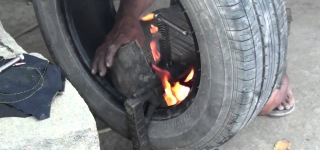 Philippine-Style Tire Repair
