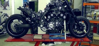 Wildly Uniique Custom Yamaha VMAX Hyper Will Blow Your Mind!