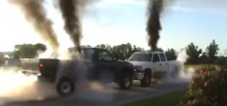 Extreme Truck Push: Chevy Duramax Vs. Dodge Cummins
