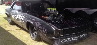 Extremely Cool Car Race: Reaper SS from Street Outlaws Drives at No Prep Madness