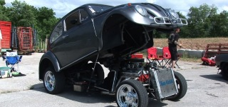 Custom-Built Flip To Volkswagen Powered by Chevrolet 327 Small-Block Engine