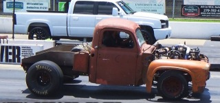 Oldie Goldie and Rusty 53' Ford Powerstroke Still Works Like a Boss!