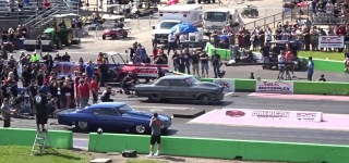 Extremely Exciteful Race from Street Outlaws: Badass Daddy Dave Goliath 2.0 Vs.