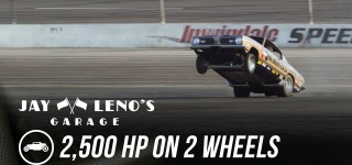 Jay Leno's Ride with 2500 Hp on 2 Wheels Didn't Go Well As Intended
