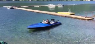 The Freaking Awesome Jet Boat Powered by a So-Called 950HP Big Block Chevy Engine