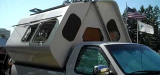 The Cool Fold-Up Camper Looks Really Practical and Comfortable