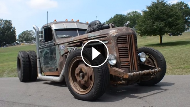 Diesel Powered Rat Rod Truck