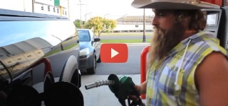 What Happens When Gassers Park in front of the Diesel Pump?